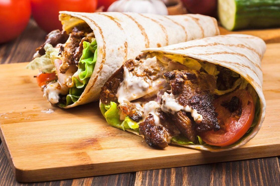 Grilled Chicken Tortilla Wrap